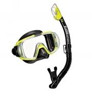 Комплект маска трубка Tusa Black Series UCR3125