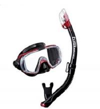 Комплект маска трубка Tusa Black Series US3125 2