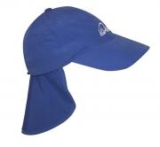 Кепка с защитой шеи IQ синий