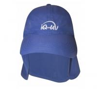 Кепка с защитой шеи IQ синий 3