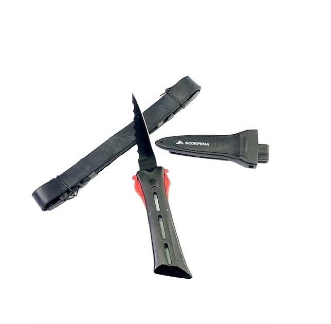 Нож Scorpena A2+ с ножнами и ремешками