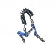 Спираль с защелкой и пластиковыми карабинами Aqua Lung