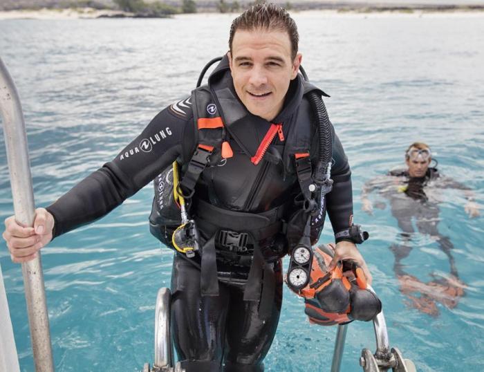 Гидрокостюм со шлемом Aqualung Dive 2017 men