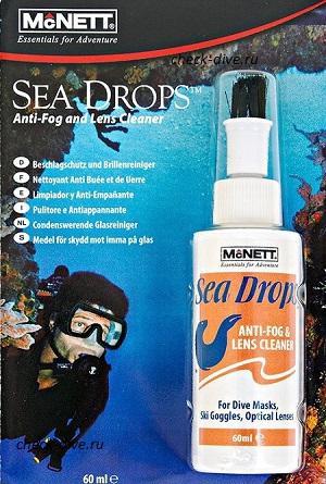 Очиститель антифог McNett Sea Drops 60мл