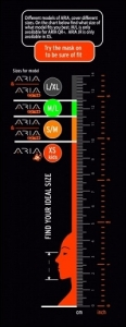 Маска Oceanreef Aria Junior для снорклинга  4