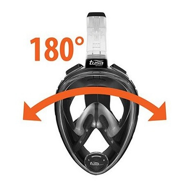 Маска для сноркелинга Tusa Full-Face Snorkeling