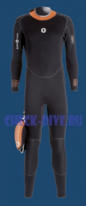 Гидрокостюм моно Dive 5мм женский 1