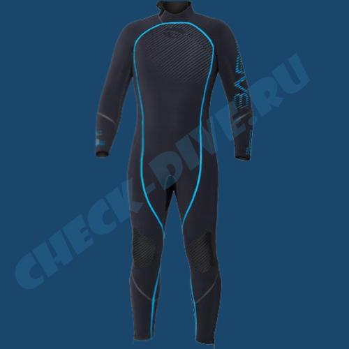 Мужской гидрокостюм Bare Reactive 5мм