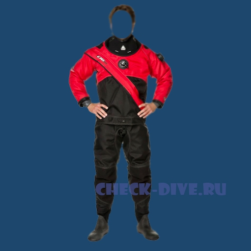 Сухой костюм Waterproof D6 Lite женский