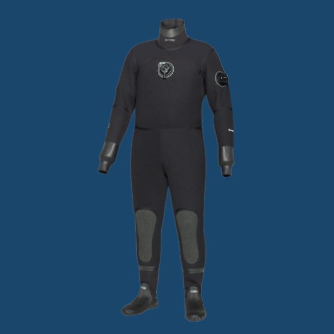 Сухой костюм Bare D6 HD Pro Dry