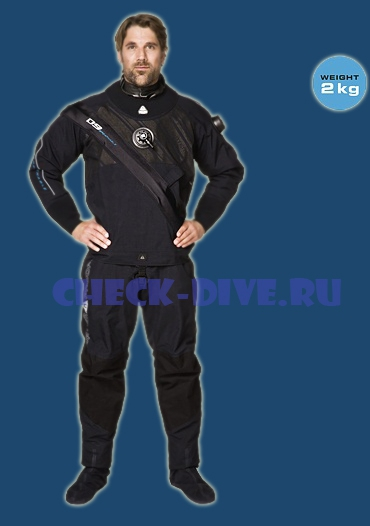 Сухой гидрокостюм Waterproof D9 Breathable