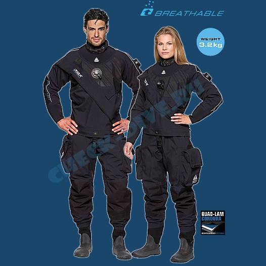 Сухой костюм Waterproof D9X Extended женский