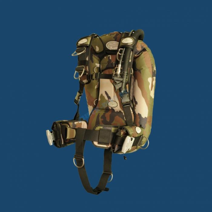 Amphibian Gear SmartPack DeLuxe Woodland Camo