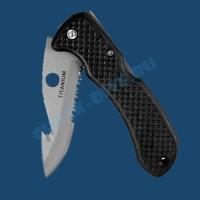Нож для дайвинга Mimosa-s титановый 2