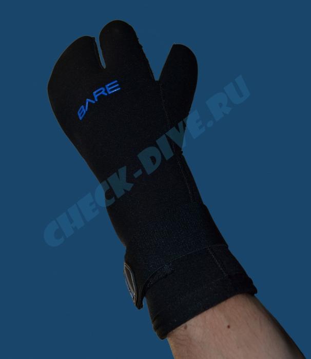 Перчатки Bare K-Palm Mitt 7мм кевлар