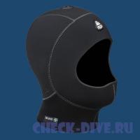Шлем неопреновый H1 5/7мм короткий 1
