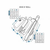Сумка дайверская на колесах Dive'n Roll 2