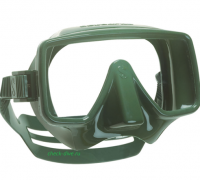Маска Scubapro Frameless зеленая 1