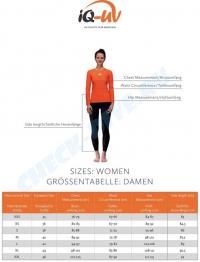 Гидромайка женская IQ UV300+ бирюза с длинным рукавом 3