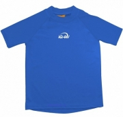 Гидромайка детская iQ синий короткий рукав
