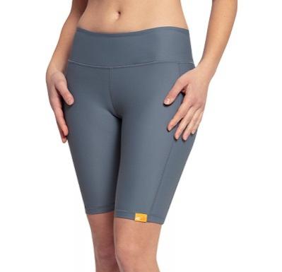 Шорты лайкра Yoga iQ UV 300 женские серый
