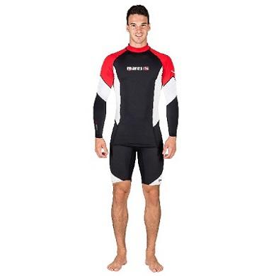 Футболка Mares Rash Guard Dive Center мужская