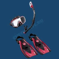 Набор для плавания Black Series Tusa Sport 2