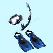 Набор для плавания Black Series Tusa Sport