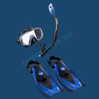 Набор для плавания Black Series Tusa Sport 1
