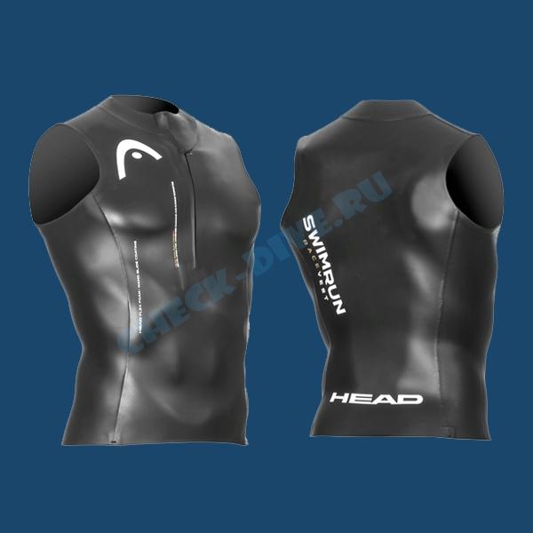 Гидромайка Head Swimrun Race Zipper 2мм