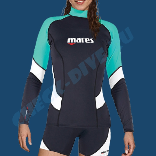 Футболка из лайкры Mares Rash Guard женская