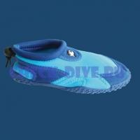 Тапки пляжные детские iQ Jolly Fish синие 1