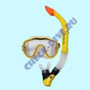 Комплект маска трубка Aqualung Оверсайз Про