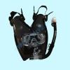 Комплект детский Tusa Mini-Kleio с «сухой» трубкой