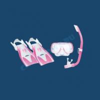 Комплект детский маска трубка ласты UP 2414 1