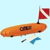 Буй Omer Torpedo ПВХ с двумя флажками