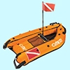 Плотик для подводной охоты Clipper Omer