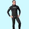 Гидрокостюм O.ME.R Gold Black 9мм короткие штаны