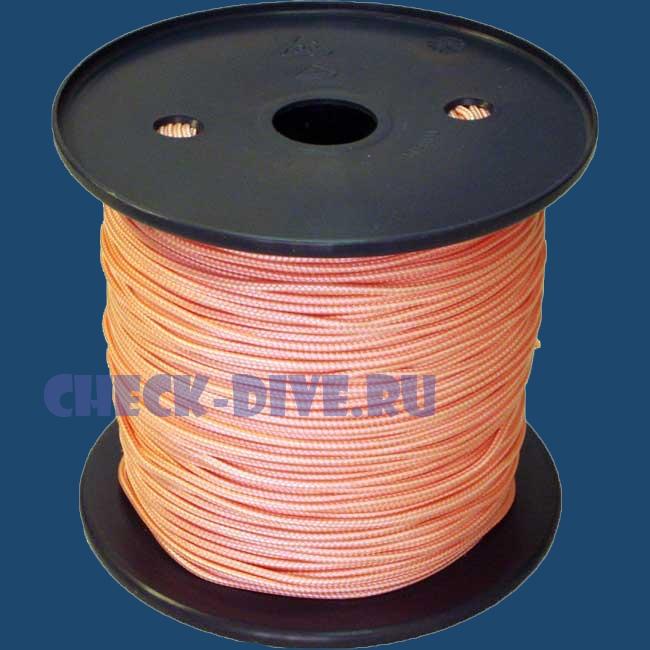 Линь Dyneema 2мм нагрузка до 220 кг