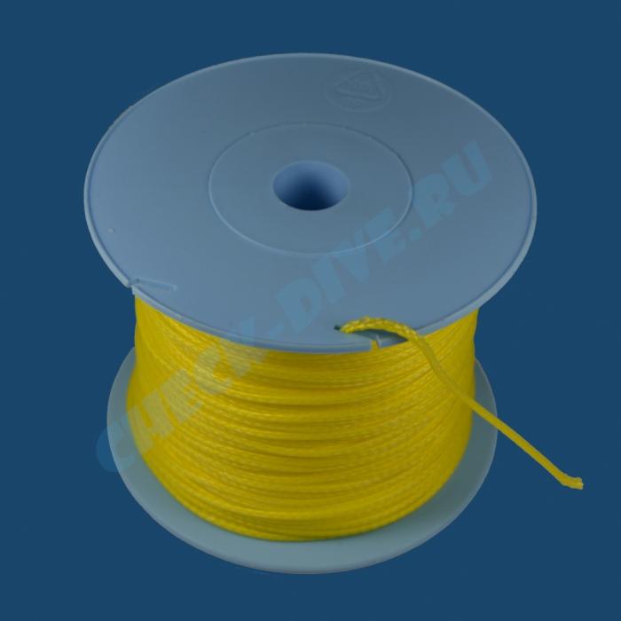 Линь SpearDiver Dyneema 1.5мм желтый