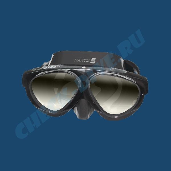 Маска Riffe Mantis 5 зеркальные линзы