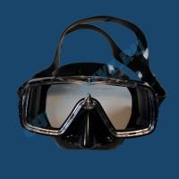 Маска Cressi Sirena черный силикон 1