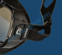 Маска Cressi Sirena черный силикон 3