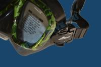 Маска для подводной охоты Akvilon MA-36-BS-G 3