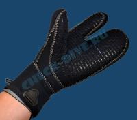 Перчатки Waterproof G1 7мм трёхпалые 4