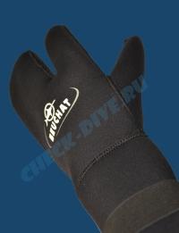 Трёхпалые рукавицы Beuchat 7мм 3
