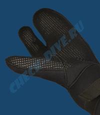 Трёхпалые рукавицы Beuchat 7мм 4