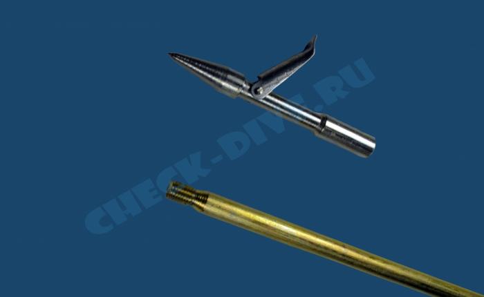 Запасной гарпун для подводного ружья Дельфин