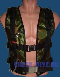 Жилет для подводной охоты Диверсант 1