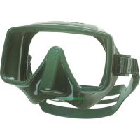 Маска Scubapro Frameless зеленая 2